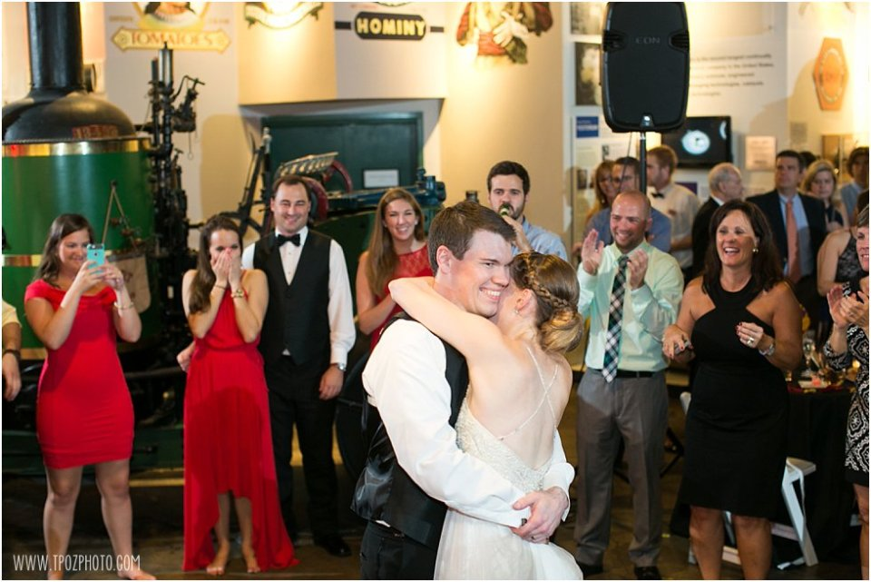 Maryland Themed Wedding at the Baltimore Museum of Industry •  tPoz Photography •  www.tpozphotoblog.com