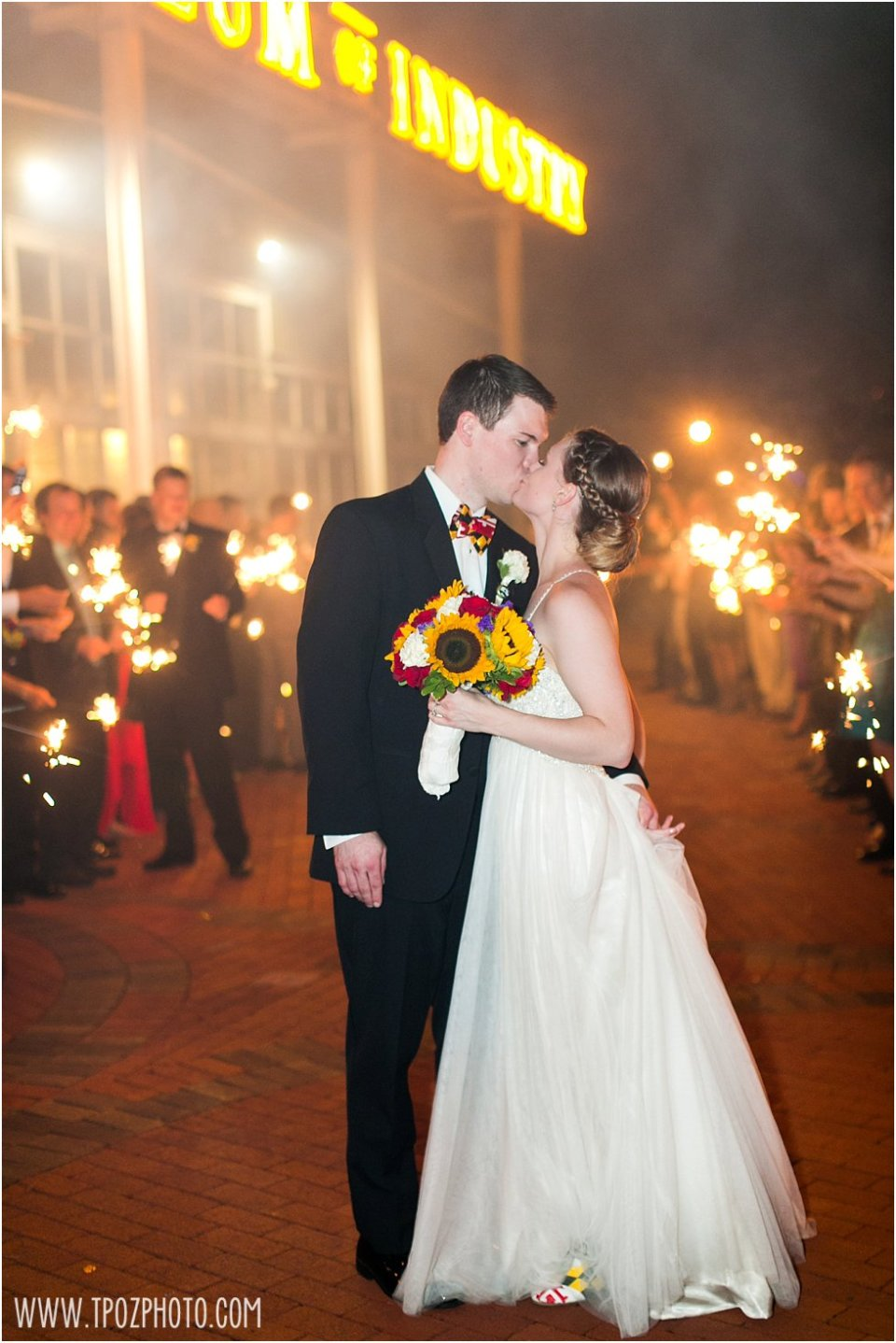 Baltimore Museum of Industry wedding photos •  tPoz Photography •  www.tpozphotoblog.com