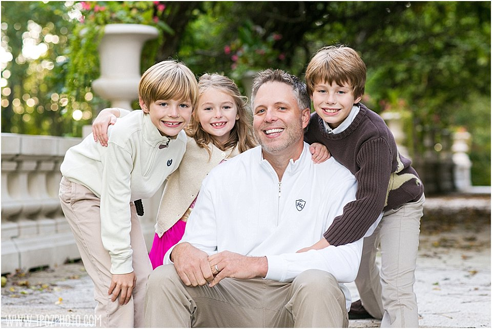 Liriodendron Mansion Family Portrait • tPoz Photography • www.tpozphoto.com