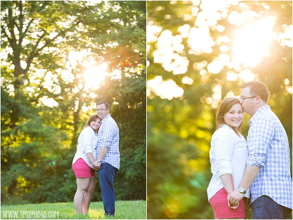 Lake Roland Engagement Photos || tPoz Photography || www.tpozphoto.com