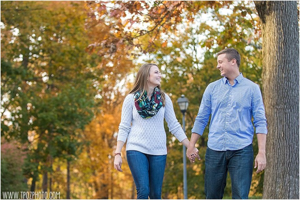 Liriodendron Mansion Engagement • tPoz Photography • www.tpozphoto.com