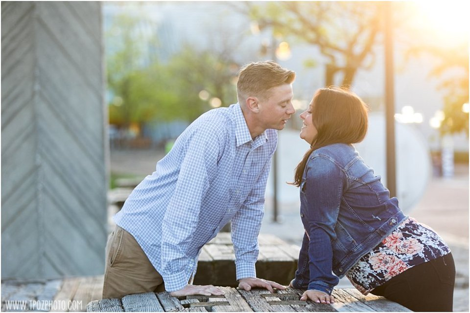 Baltimore Harbor Engagement Session • tPoz Photography • www.tpozphoto.com