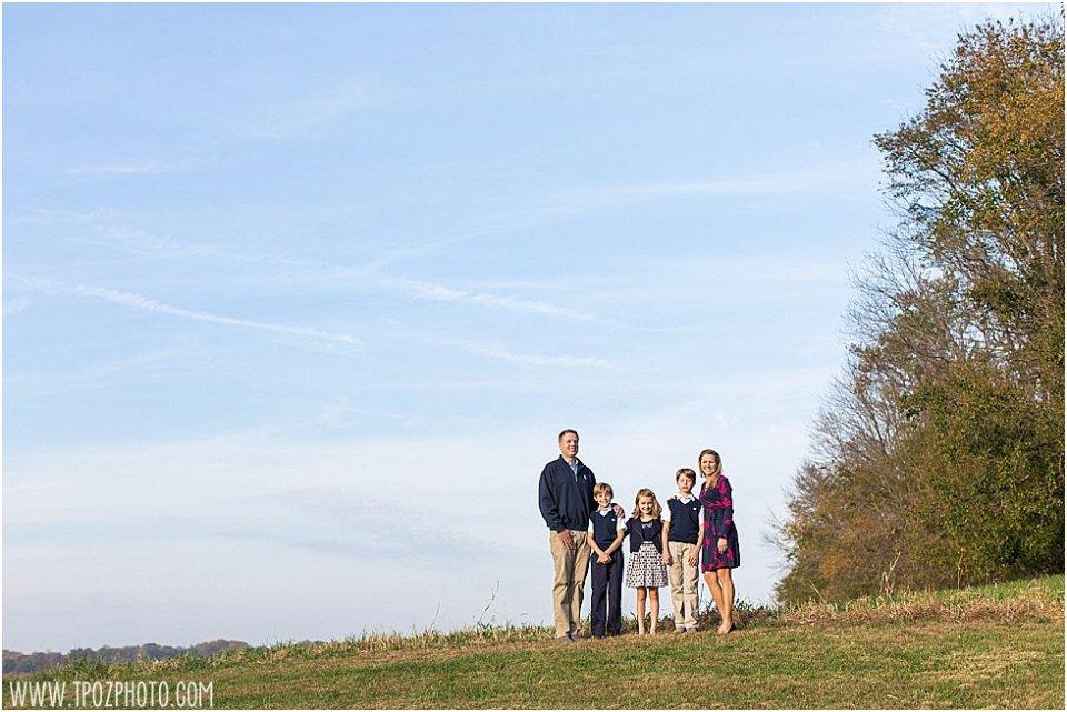 Bel Air Family Portrait || tPoz Photography || www.tpozphoto.com