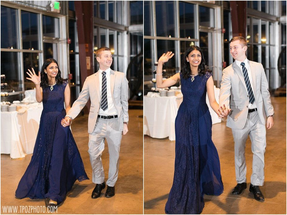 At-Home Wedding Reception at the BMI || tPoz Photography || www.tpozphoto.com