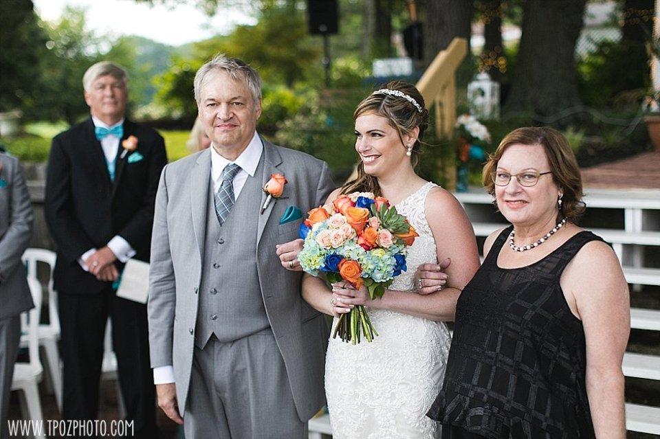 Bleue's on the Water Wedding || tPoz Photography || www.tpozphoto.com