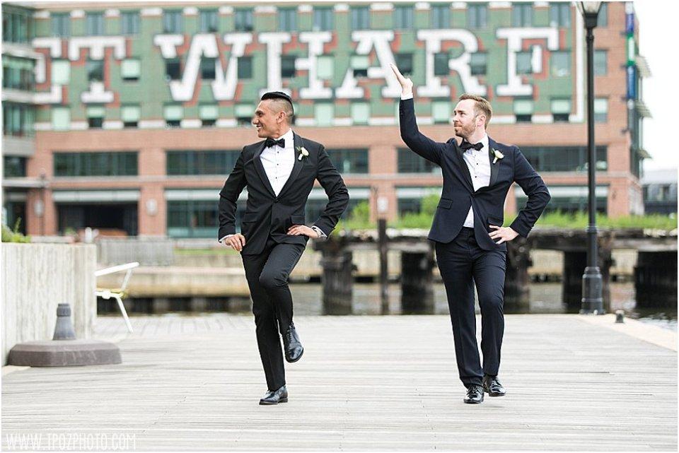 Fells Point Same-sex wedding at the Frederick Douglass Maritime Museum •tPoz Photography • www.tpozphoto.com