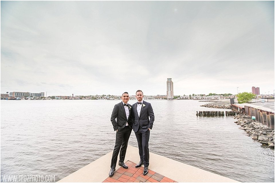 Fells Point Same-sex wedding at the Frederick Douglass Maritime Museum • tPoz Photography • www.tpozphoto.com