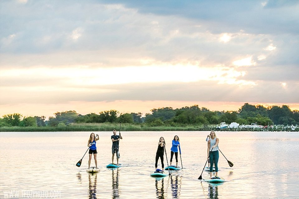 Baltimore Stand Up Paddleboarding - Bmore SUP •  tPoz Photography •  www.tpozphoto.com