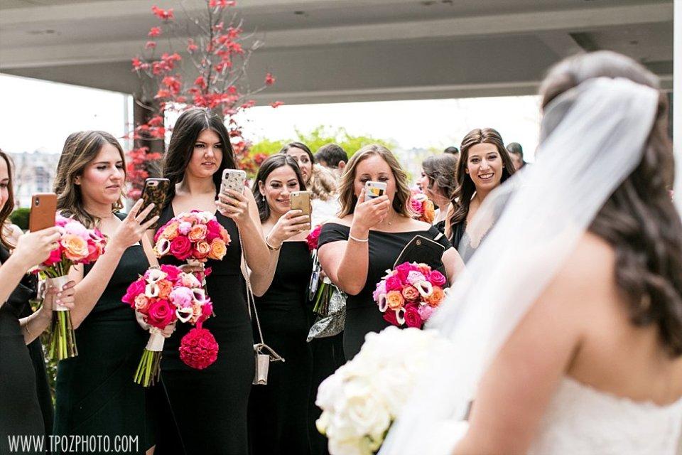 Bridesmaids aka paparazzi! || tPoz Photography || www.tpozphoto.com