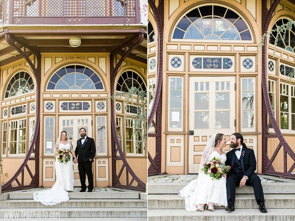 Patterson Park Pagoda Wedding Portraits || tPoz Photography || www.tpozphoto.com