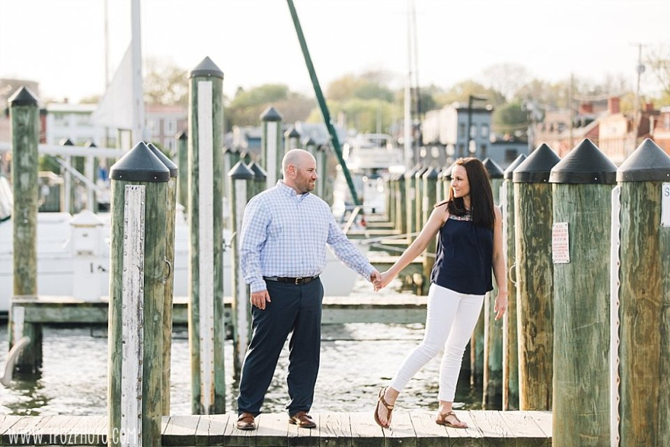 Ego Alley Annapolis Engagement Photos || tPoz Photography || www.tpozphoto.com