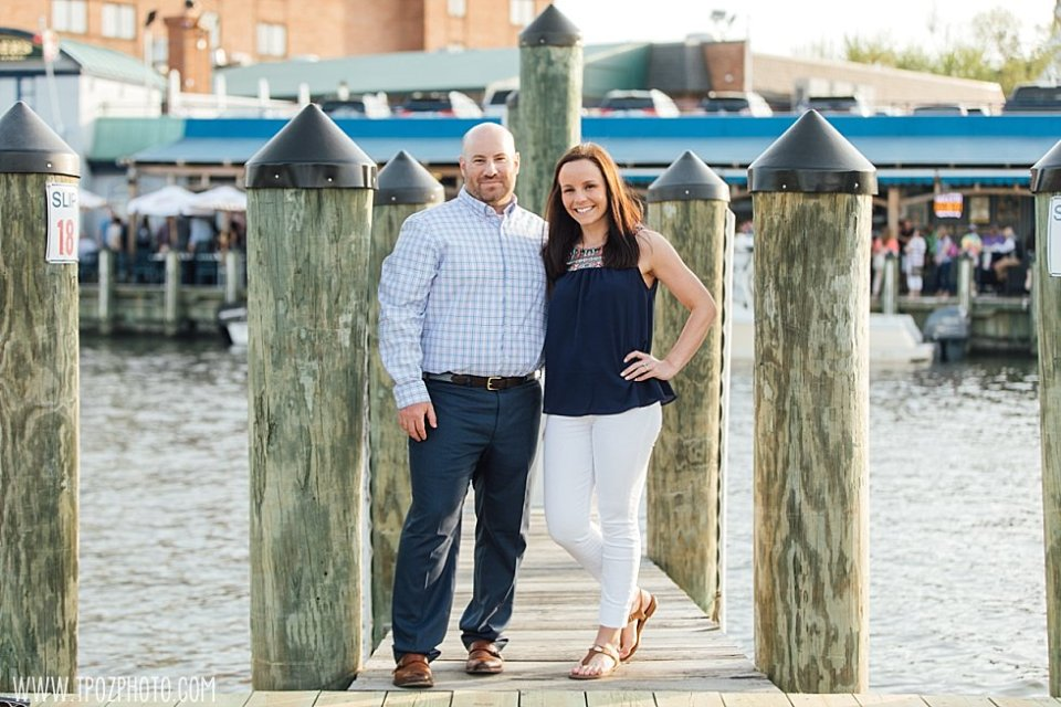 Ego Alley Annapolis Engagement Photos || tPoz Photography || www.tpozphoto.com