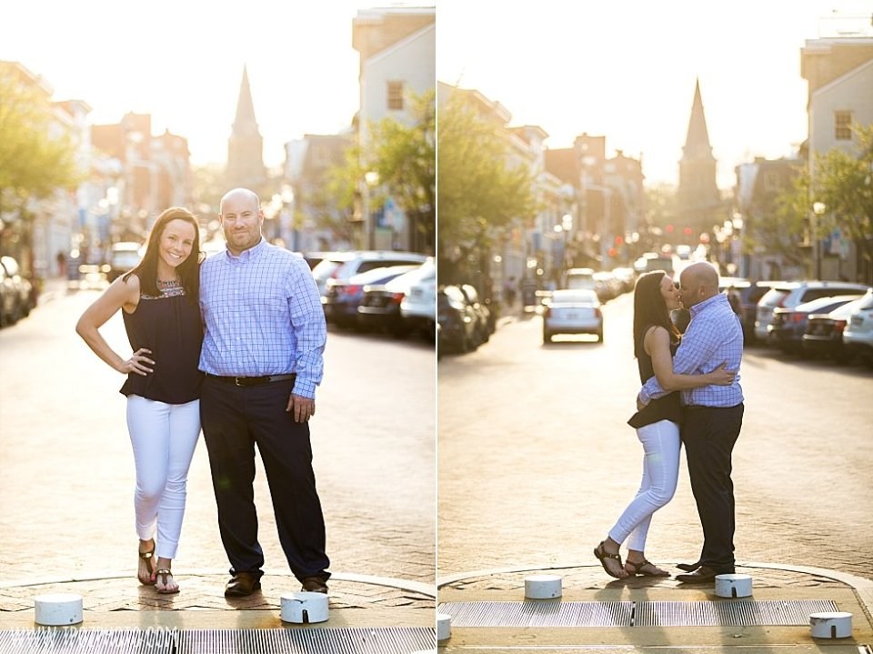 Downtown Annapolis Engagement || tPoz Photography || www.tpozphoto.com