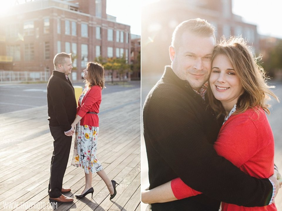 Locust Point Engagement Session || tPoz Photography || www.tpozphoto.com