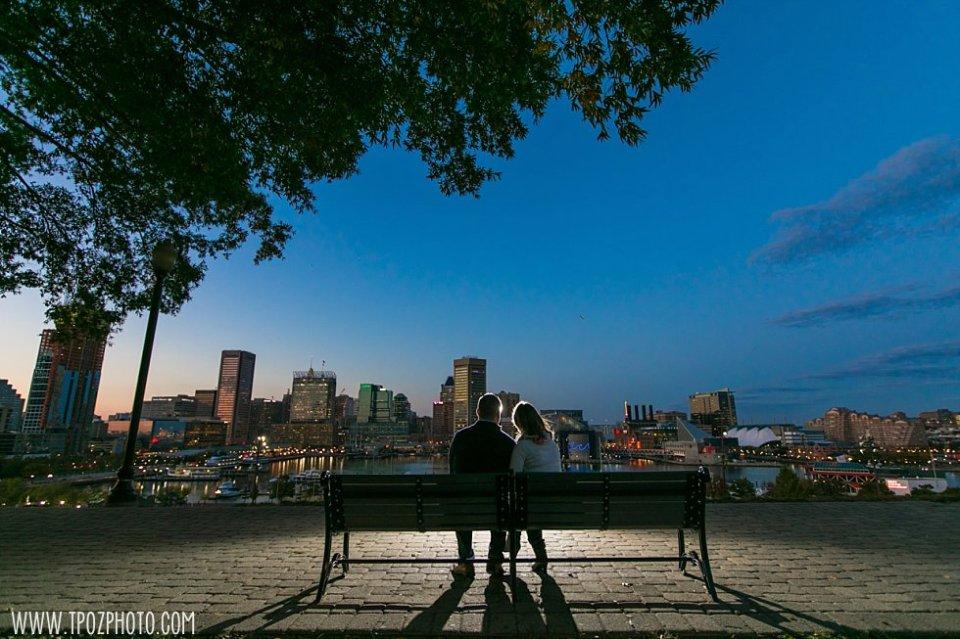 Locust Point Engagement Session || tPoz Photography || www.tpozphoto.com