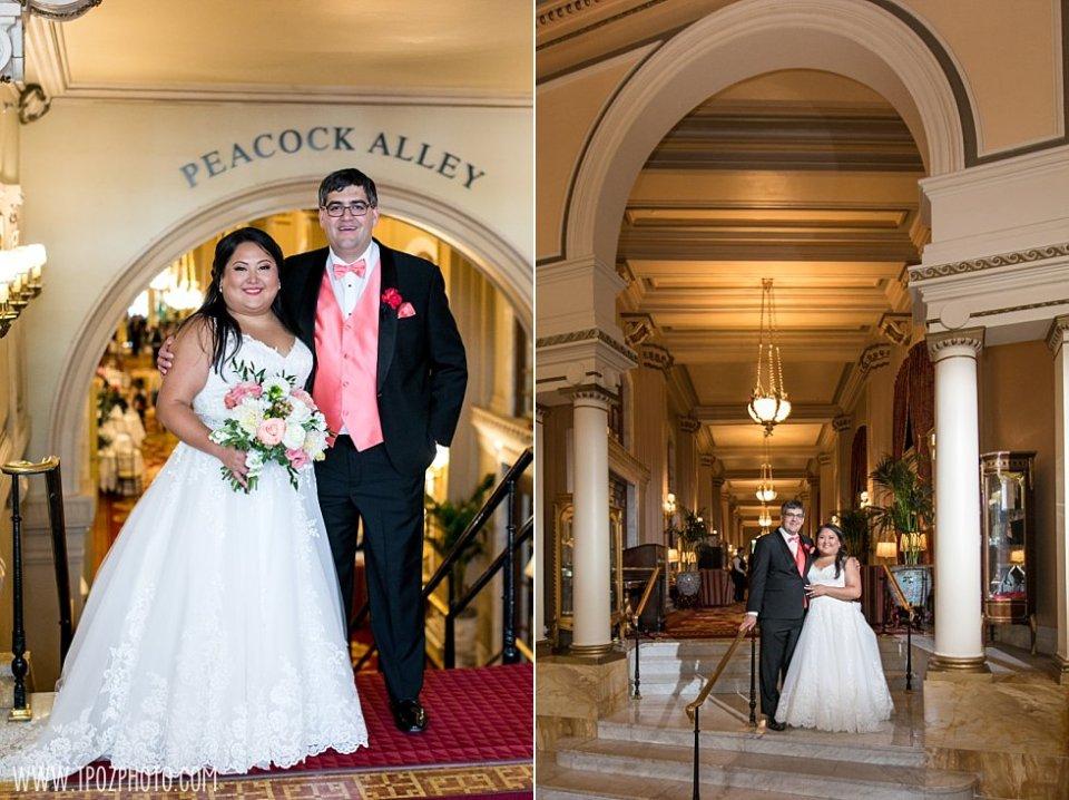 Wedding at The Willard Intercontinental Hotel Washington DC  • tPoz Photography  • www.tpozphoto.com