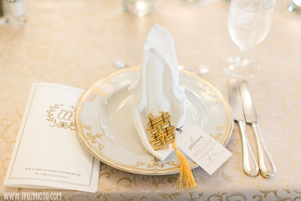 Wedding at The Willard Intercontinental Hotel Washington DC  •  tPoz Photography  •  www.tpozphoto.com