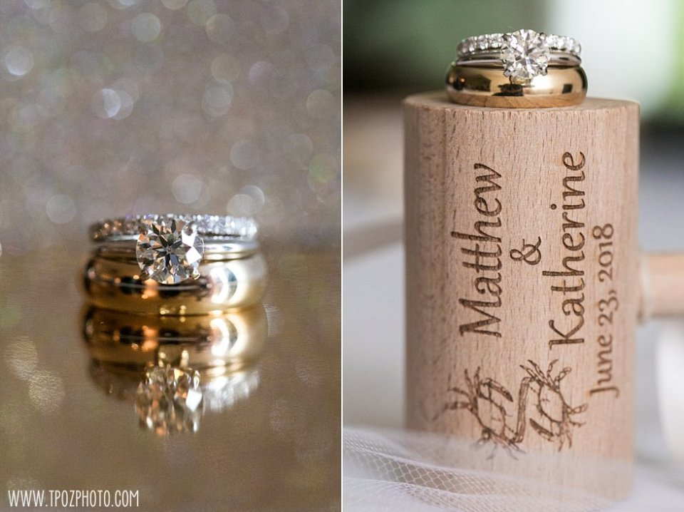 Wedding Rings and crab mallet • tPoz Photography  •  www.tpozphoto.com