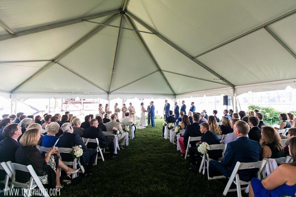 Pier 5 Gardens Wedding Ceremony • tPoz Photography  •  www.tpozphoto.com