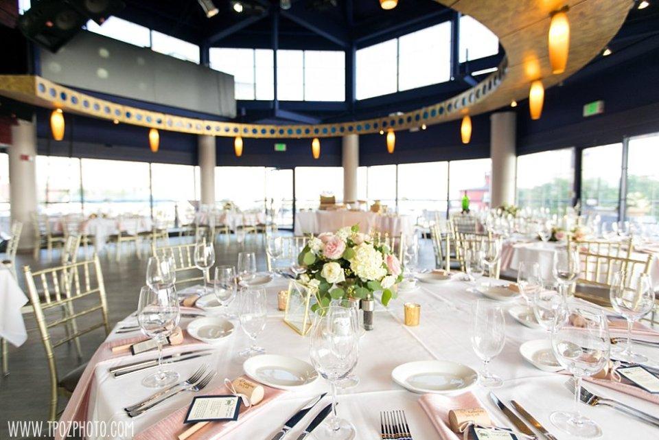 Pier 5 Hotel Wedding reception  • tPoz Photography  •  www.tpozphoto.com
