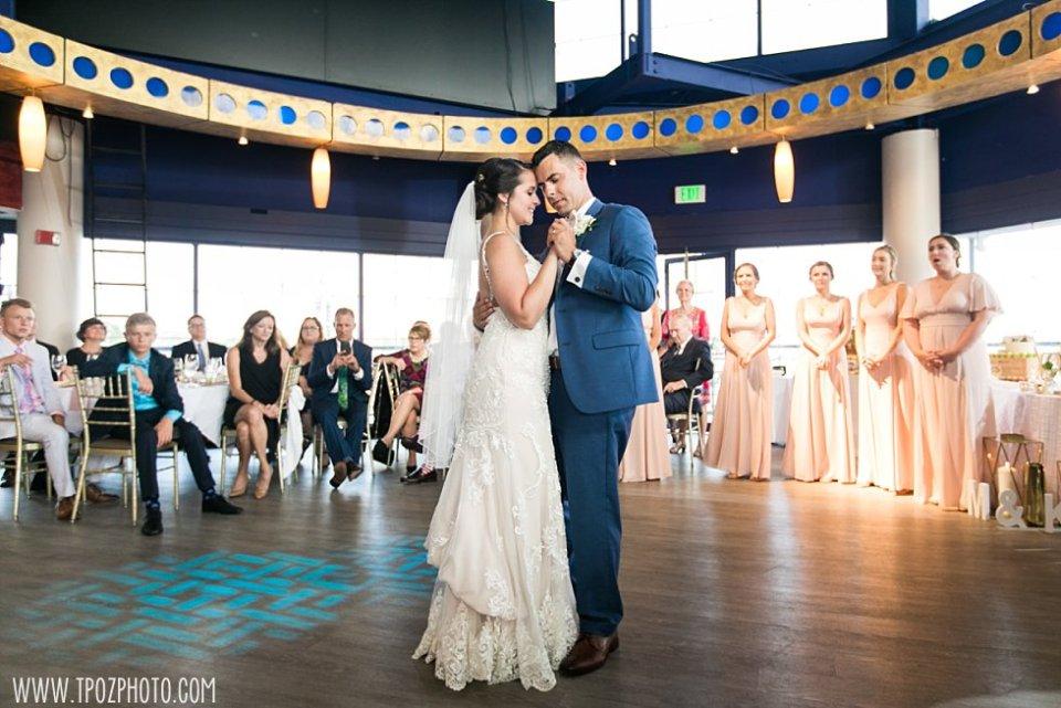 First Dance Pier 5 Hotel Wedding • tPoz Photography  •  www.tpozphoto.com