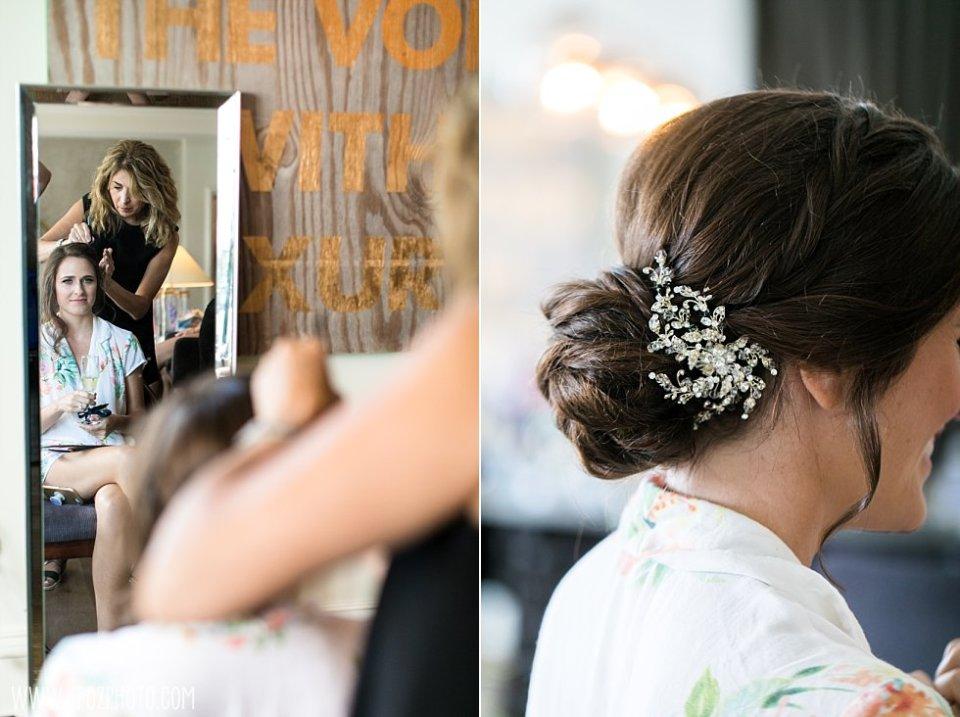 Bridal hair by Ramona • tPoz Photography • www.tpozphoto.com