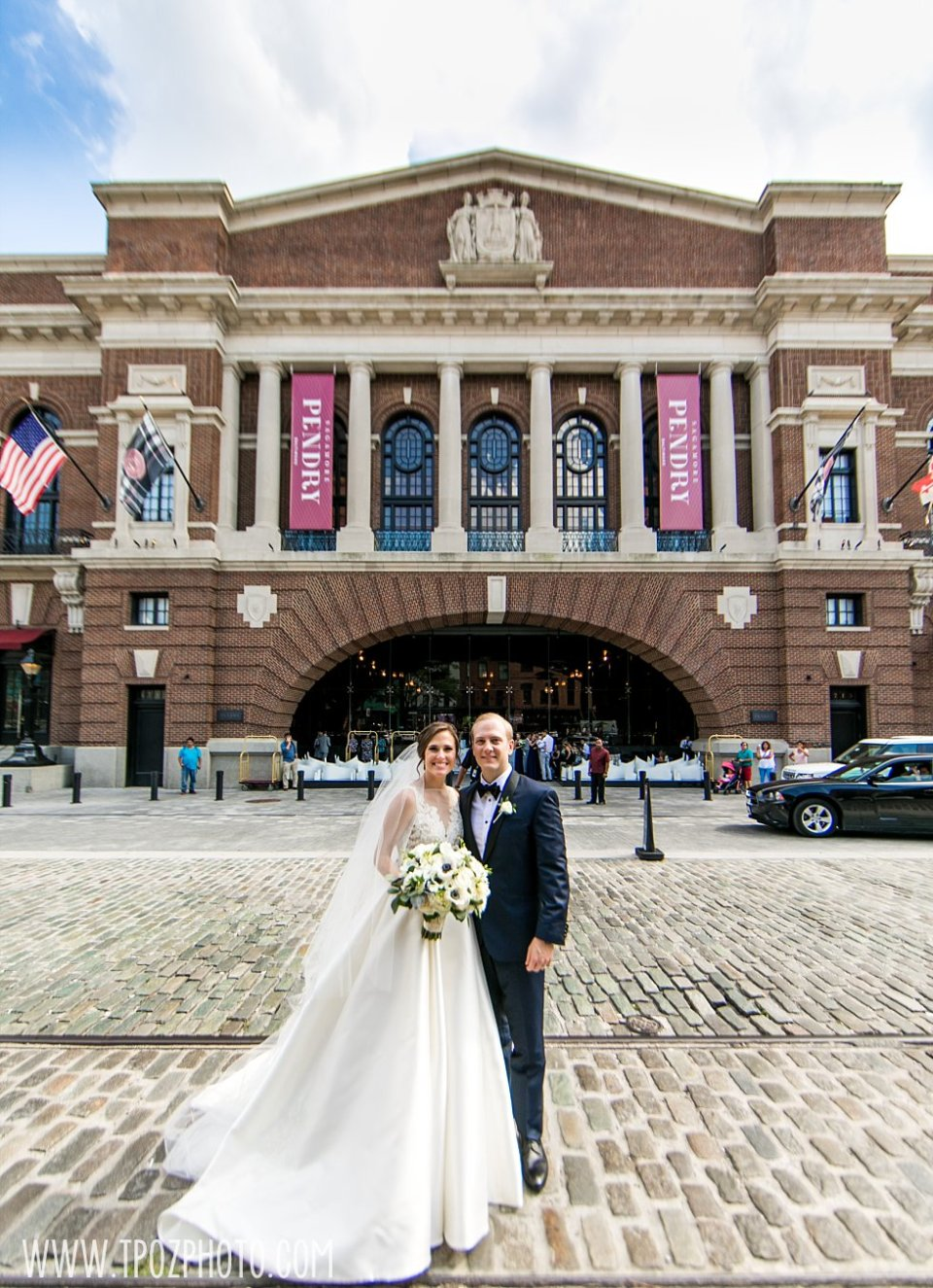 Sagamore Pendry Hotel Wedding bride and groom •  tPoz Photography • www.tpozphoto.com