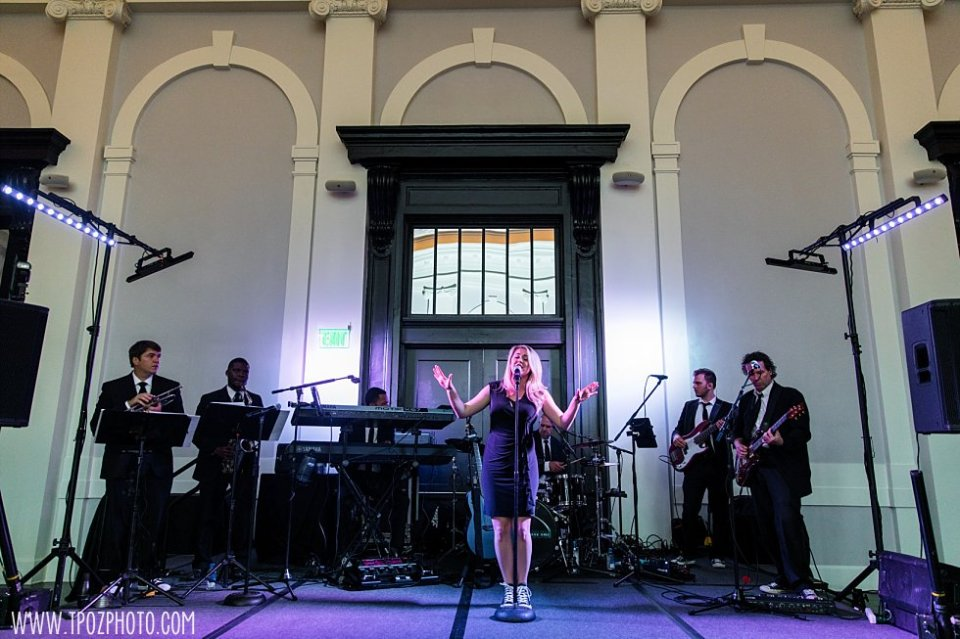 Millenium Band at Sagamore Pendry Wedding Reception •  tPoz Photography • www.tpozphoto.com