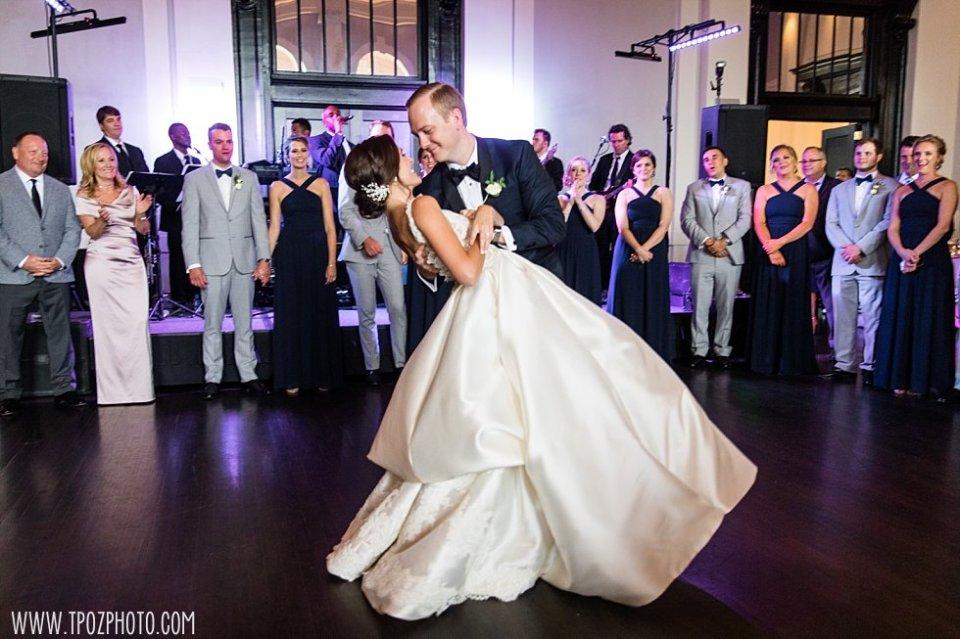 Sagamore Pendry Wedding Reception First Dance • tPoz Photography • www.tpozphoto.com
