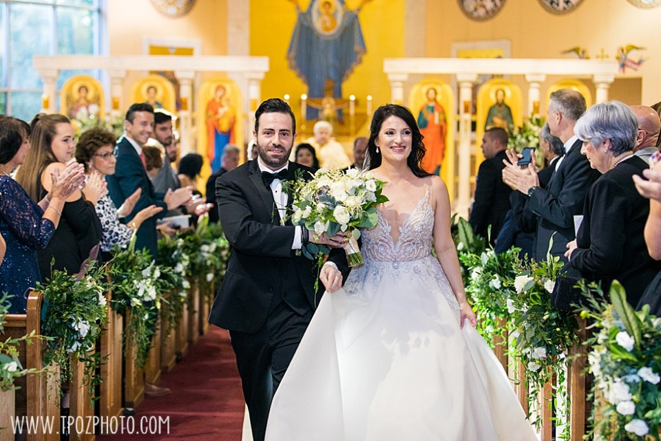 Baltimore wedding ceremony at St. Demetrios Greek Orthodox Church • tPoz Photography  • www.tpozphoto.com