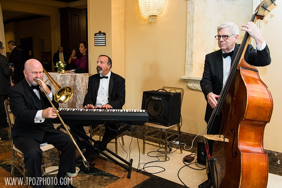 Peabody Jazz Quintet wedding music • tPoz Photography  • www.tpozphoto.com