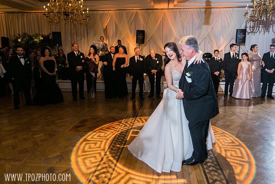 Father Daughter wedding dance at The Grand Lodge of Maryland  • tPoz Photography  • www.tpozphoto.com