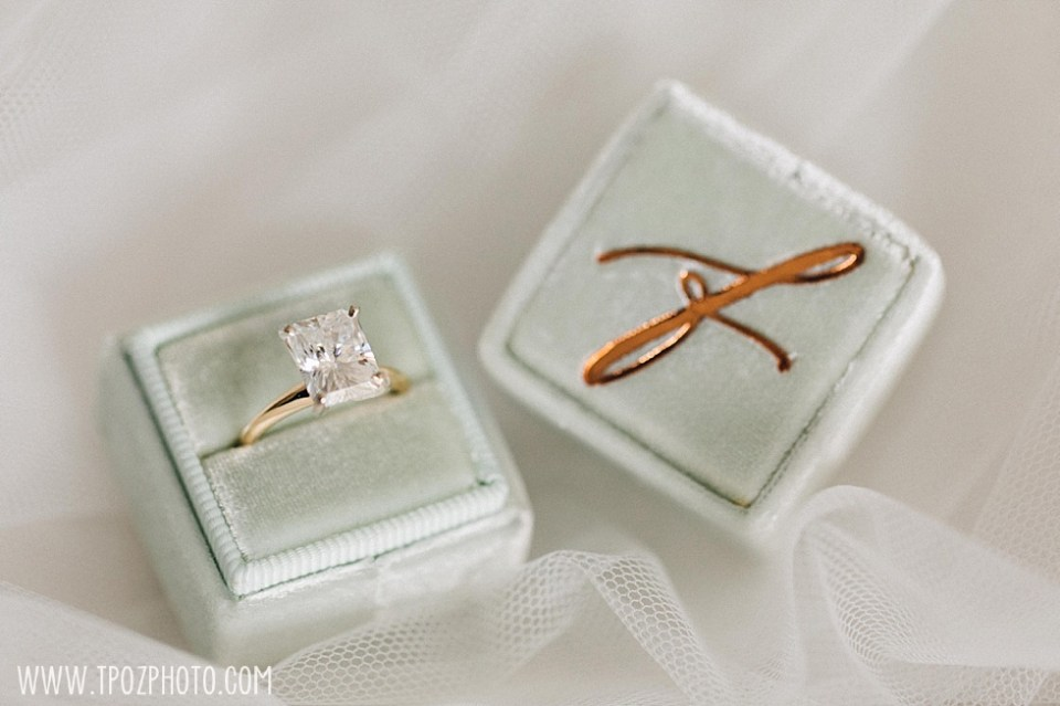 wedding rings in a MRS box