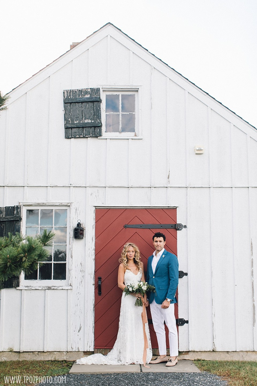 Chesapeake Bay Maritime Museum wedding bride and groom