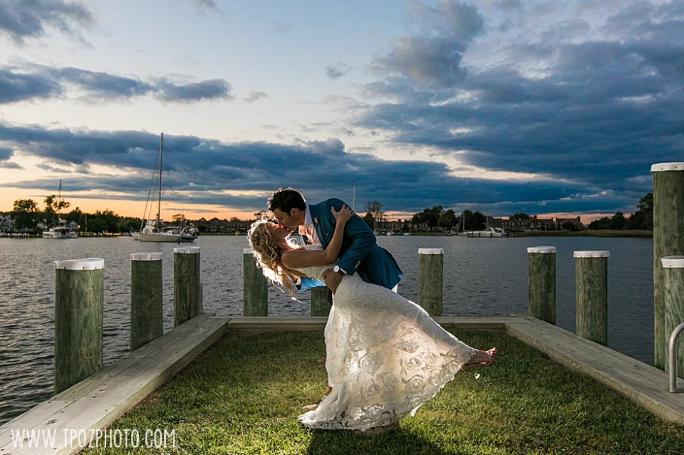 Chesapeake Bay Maritime Museum wedding photographer