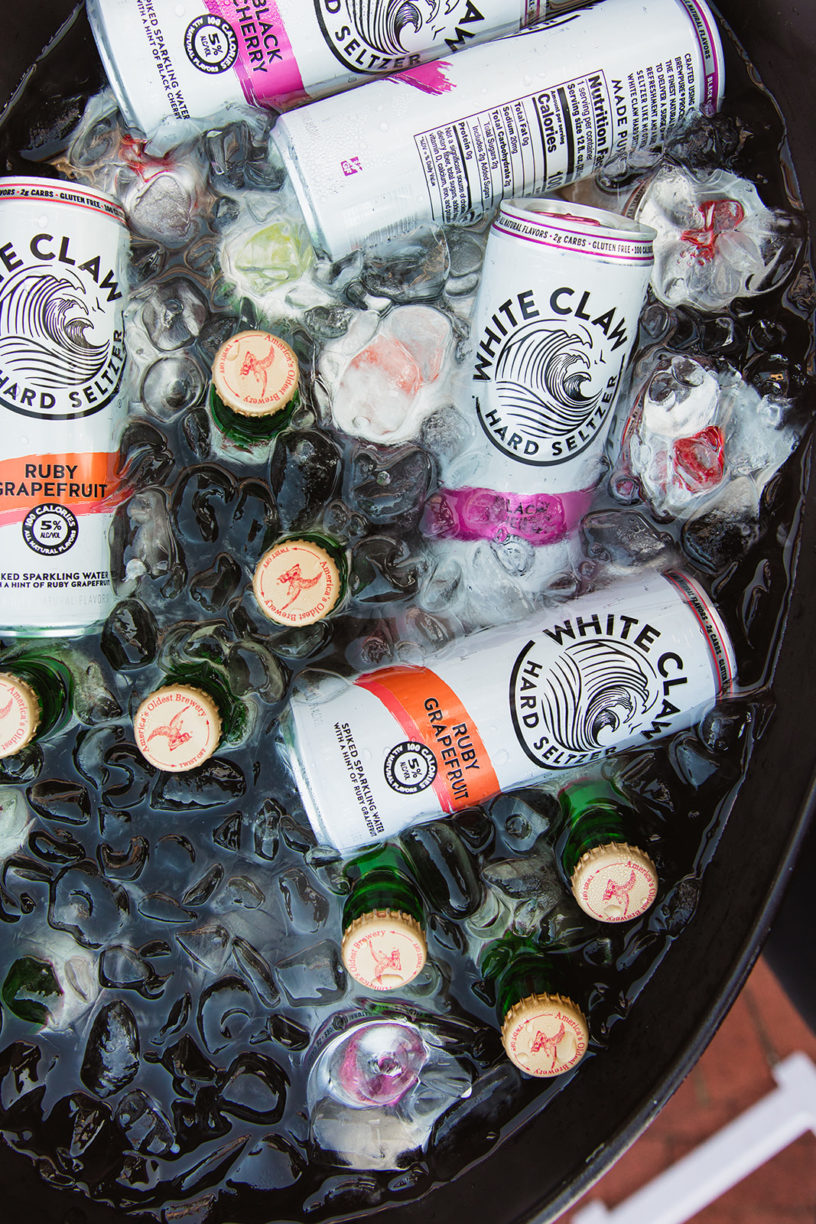 white claw wedding ceremony
