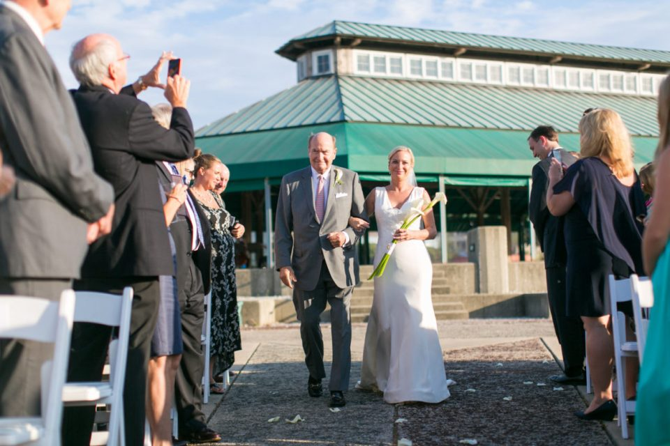 BMI wedding ceremony on the Point