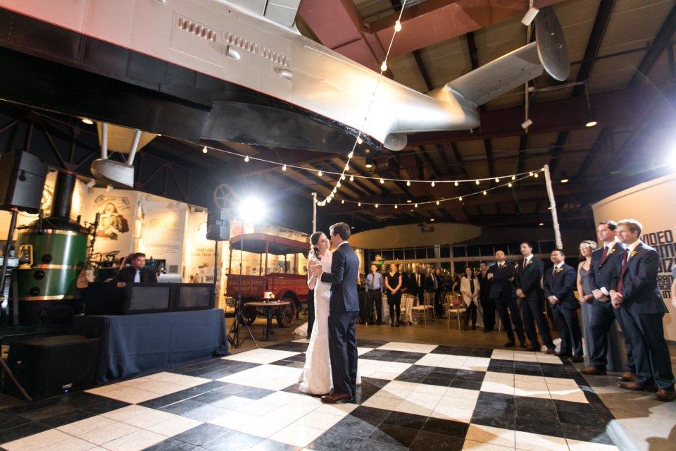 Wedding Dance Floor at the BMI