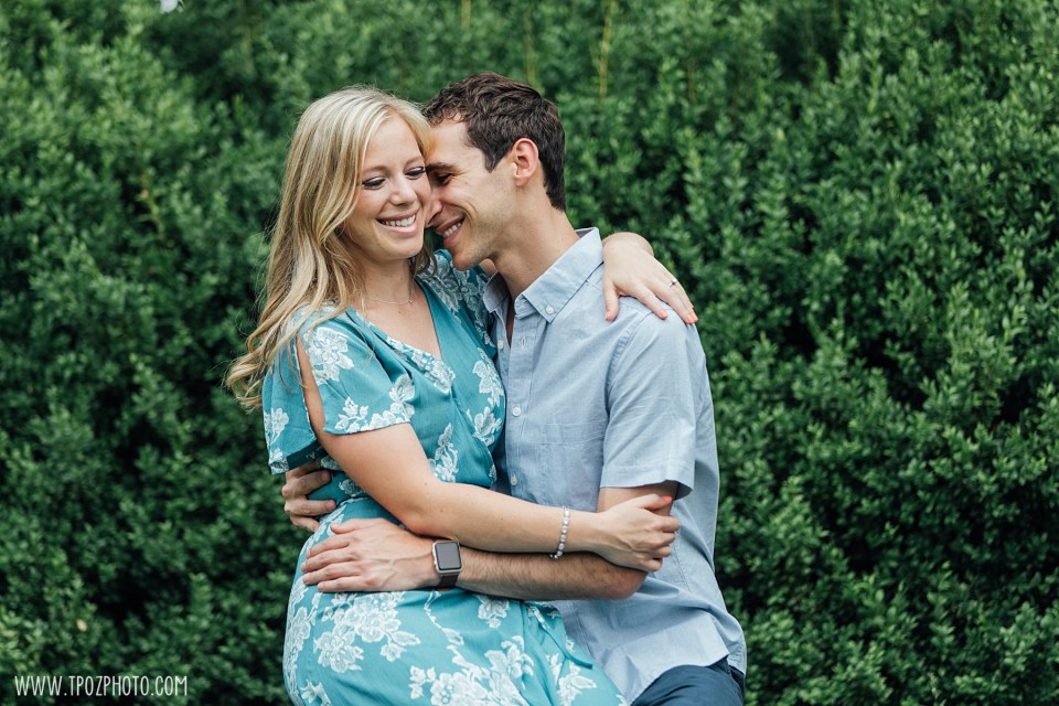 Cylburn Arboretum engagement photos