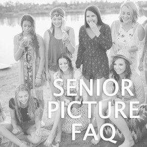 Senior Picture FAQ