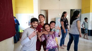 pic 2 300x169 - A visit to an Orphanage..!