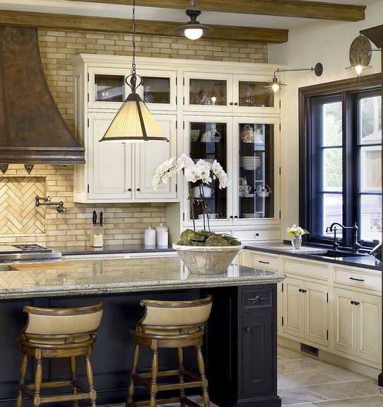 Is Navy The New Black When It Comes To Kitchens