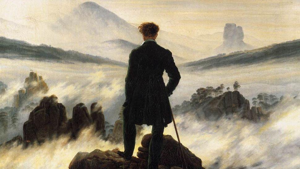 Imatge de fons per a un poema de Goethe