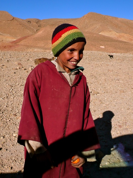 Nomad-Boy-in-Bouthgrar-Valley of Nomads