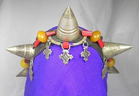 Silver-Berber- Headress