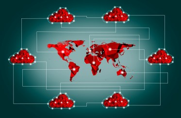 The Internet of Things - Global Cloud Concept