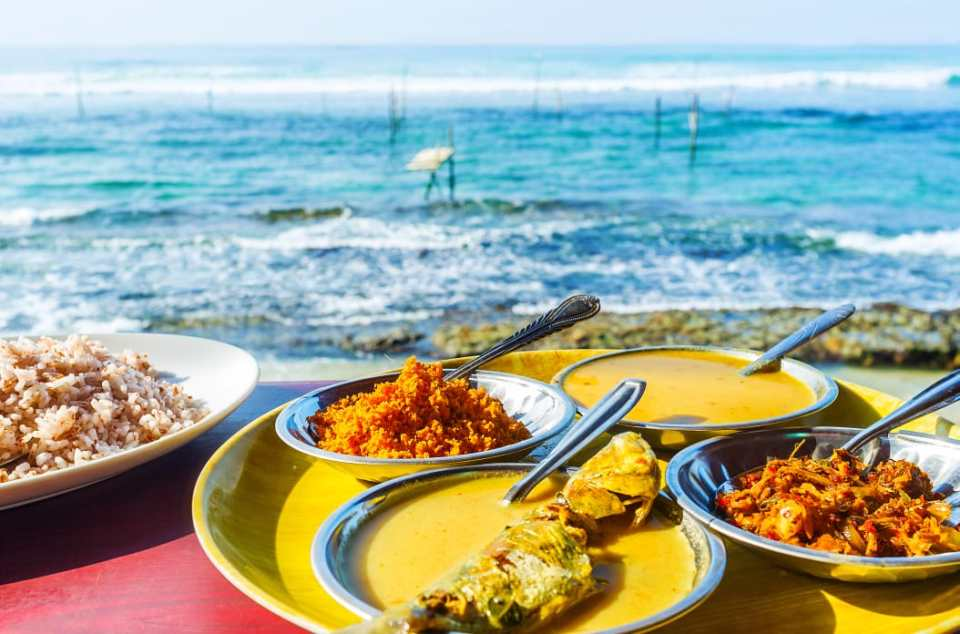 Sri Lanka: A land of delectable cuisine.