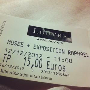 Tiket Louvre