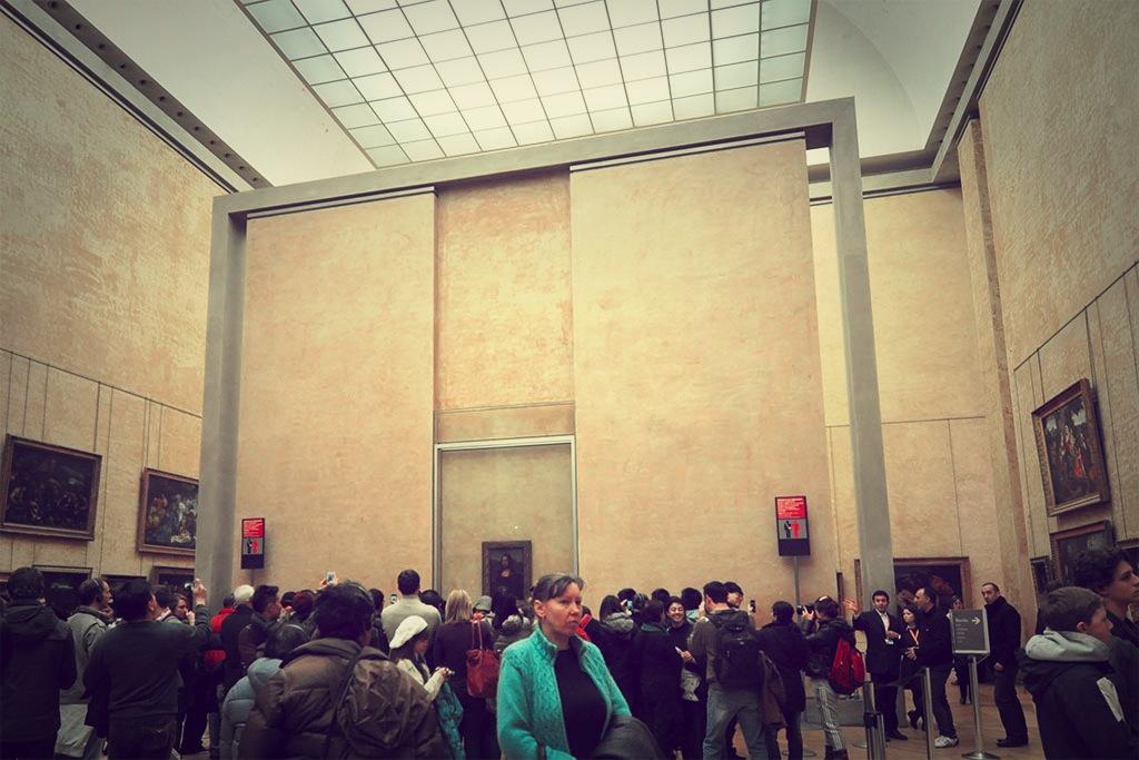 Kerumunan Mona Lisa