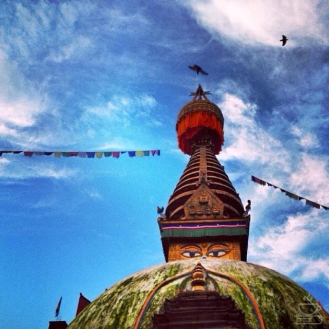 Bendera doa di Nepal